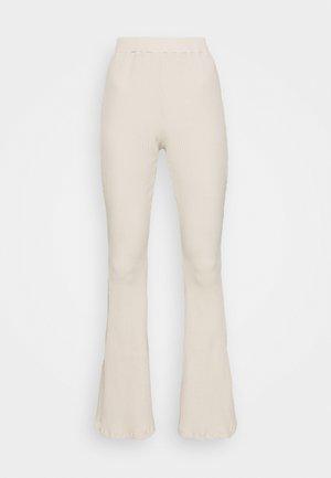 LADIES TROUSERS - Trousers - ecru