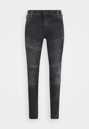 AIRBLAZE 3D SKINNY - Slim fit jeans - slander black
