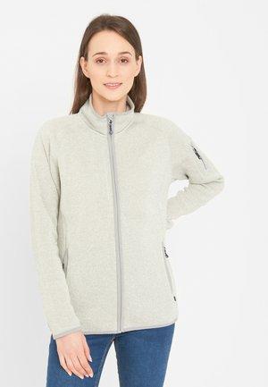 Fleece jacket - light grey