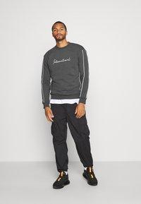 New Look - PIPED  - Sweatshirt - dark grey - 1