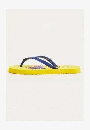 Sandales de bain - yellow