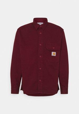 RENO SHIRT - Camicia - dark red