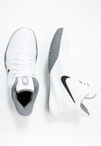 Nike Performance - PRECISION III - Basketball shoes - white/black - 1