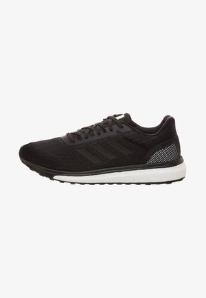 RESPONSE - Neutral running shoes - schwarz/weiß