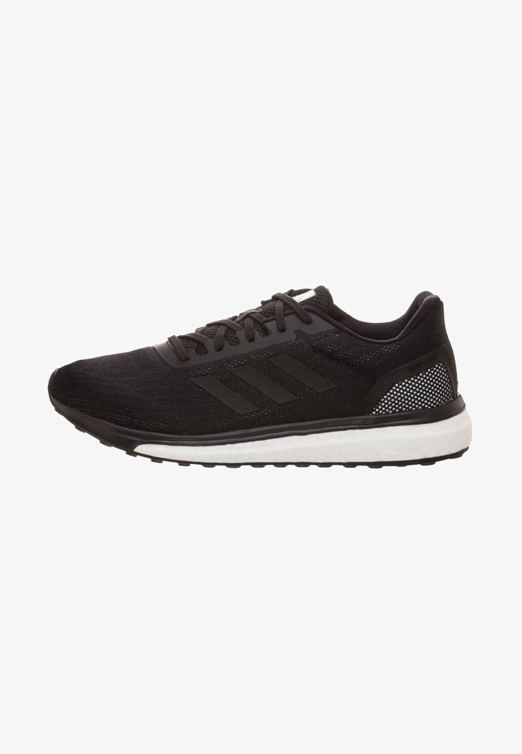 adidas Performance - RESPONSE - Neutral running shoes - schwarz/weiß