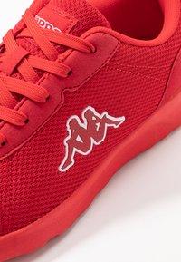 Kappa - TUNES OC - Sportschoenen - red - 5