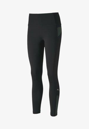 EVOSTRIPE - Leggings - Trousers - black-mist green