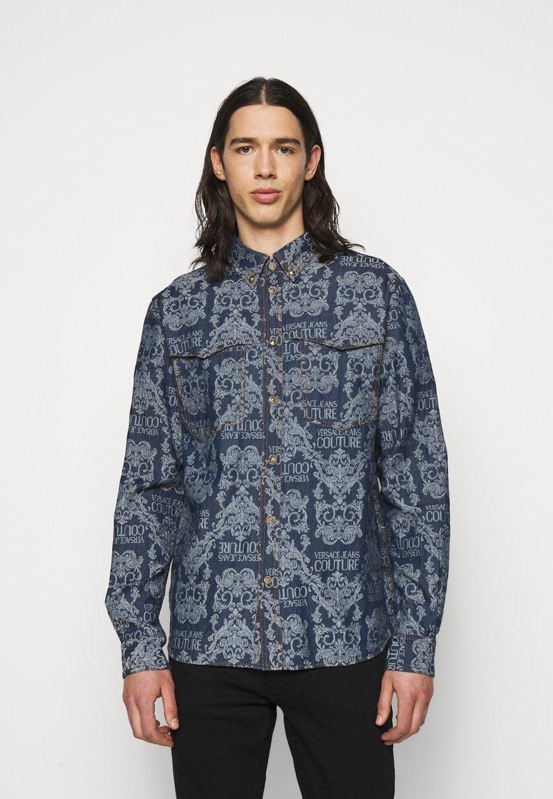 Versace Jeans Couture - BAROQUE - Shirt - light blue