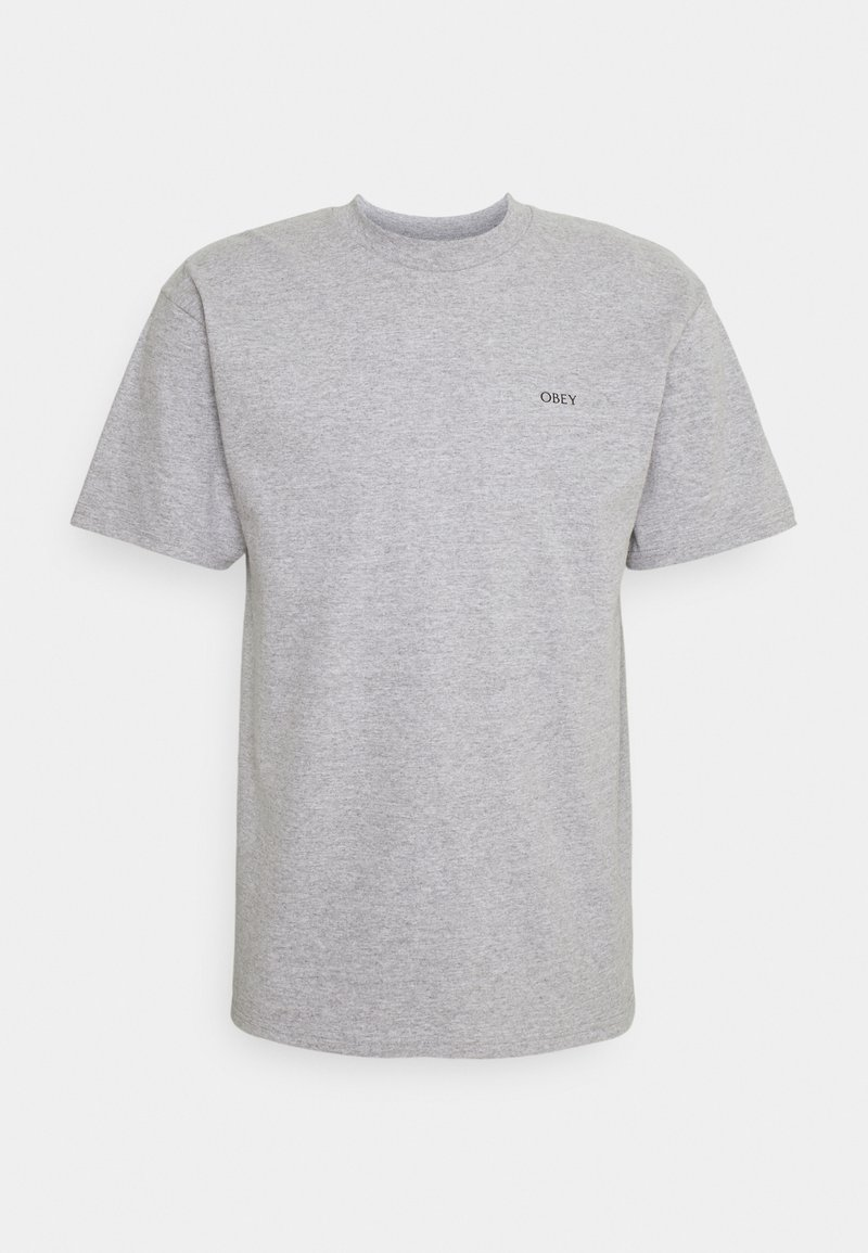 Obey Clothing - OBEY PAINT IT BLACK - Printtipaita - heather grey