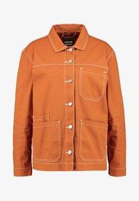 MIKI WORKER JACKET - Summer jacket - cognac