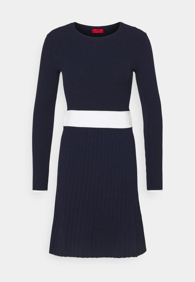 SEAGERY - Jumper dress - open blue