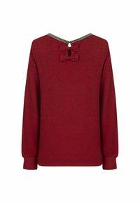 NAF NAF - Long sleeved top - red - 1