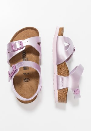 RIO - Sandals - electric metallic lilac