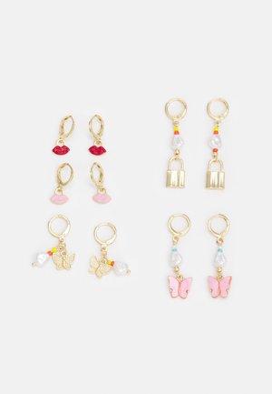 EARRINGS 5 PACK - Earrings - gold-coloured