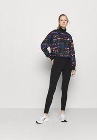 adidas Performance - HALFZIP - Sweatshirt - black/semi flash red - 1