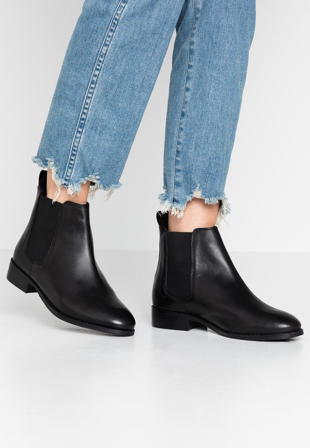 BRAMBLE WIDE FIT - Boots à talons - black