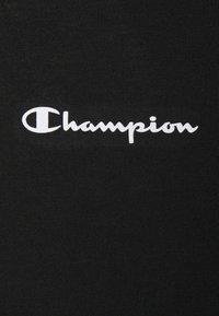 Champion - CREWNECK - T-shirt con stampa - black - 2