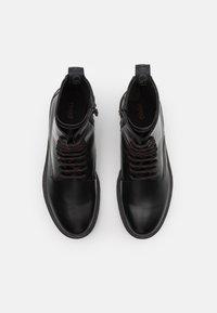 HUGO - ADVENTURER - Šněrovací kotníkové boty - black - 3