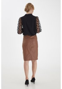 Fransa - FRNABURN - Button-down blouse - black - 3