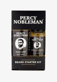 Percy Nobleman - BEARD STARTER KIT - Shaving set - - - 0