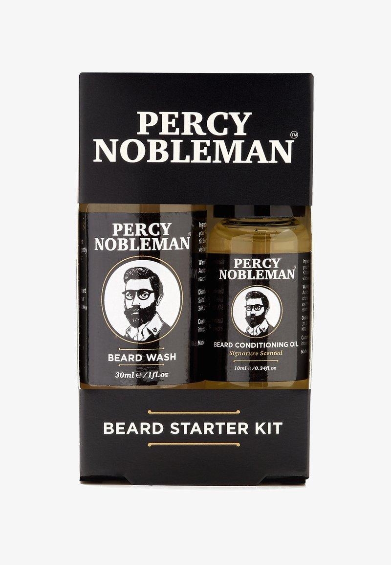Percy Nobleman - BEARD STARTER KIT - Shaving set - -