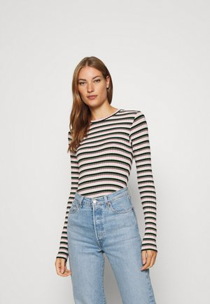 TUBA STRIPE - Long sleeved top - multi green