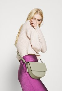 Topshop - ROLL CROP PINK - Jumper - neutral - 4