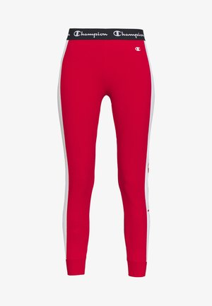 PANTS - Tracksuit bottoms - red