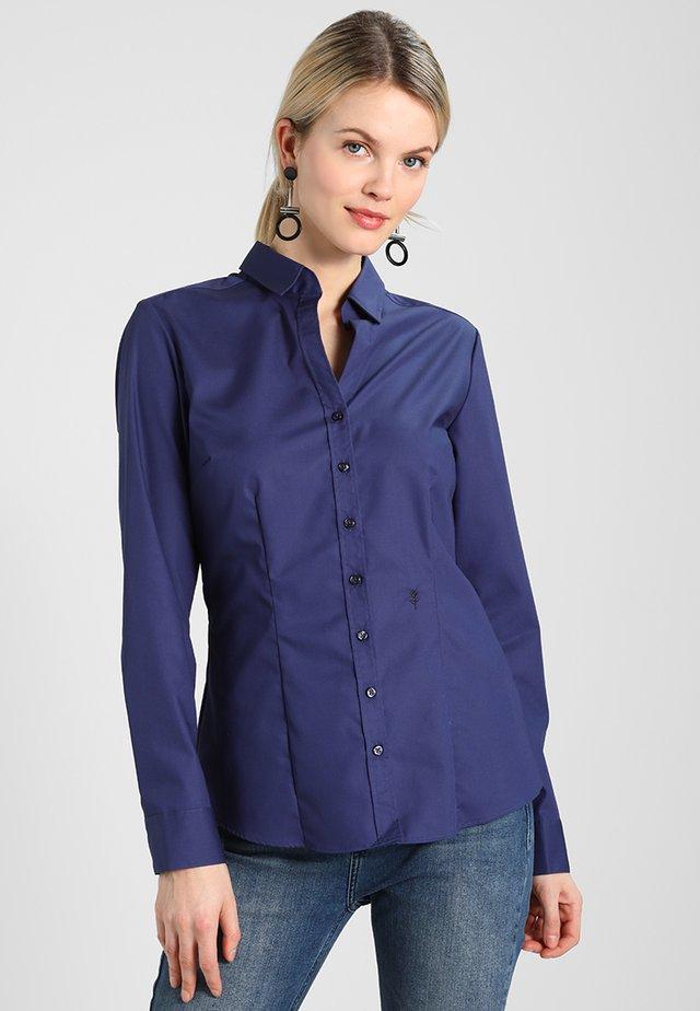SCHWARZE ROSE - Skjorte - dunkelblau