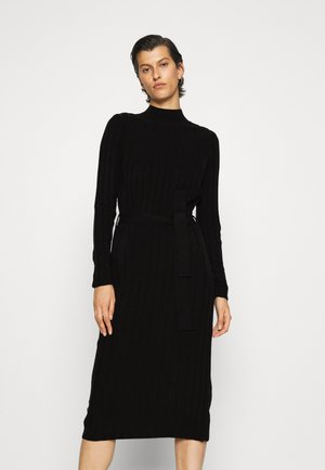 ONLNEW TESSA O NECK DRESS - Jumper dress - black