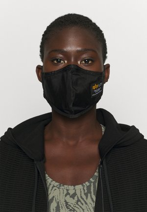 CREW FACE MASK UNISEX - Stoffen mondkapje - black