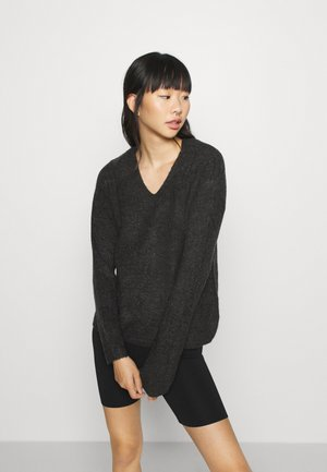 ONLCAMILLA - Jumper - dark grey melange