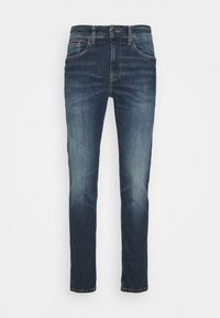 AUSTIN - Zúžené džíny - danny dark blue stretch