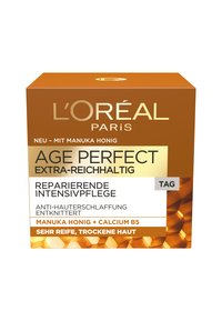 L'Oréal Paris Skin - AAGE PERFECT EXTRA-RICH MANUKA DAY CREAM 50ML - Gesichtscreme - -