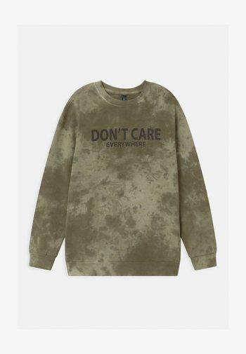 BOYS - Sweatshirt - dunkelgrün