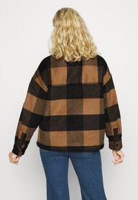 AllSaints - LUELLA CHECK JACKET - Light jacket - brown/black - 2