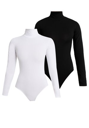 2 PACK - Body - white/black