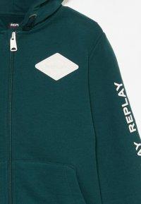 Replay - Zip-up hoodie - dark green - 3