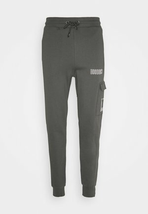 Cargo trousers - grey/white