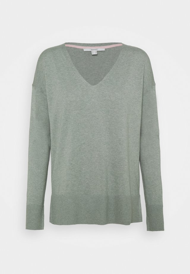 VNECK  - Maglione - dusty green