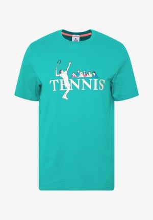 Print T-shirt - niagara blue/multico