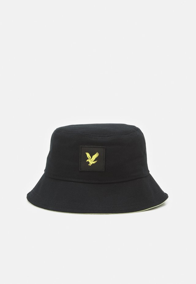 CONTRAST BUCKET HAT UNISEX - Cappello - black