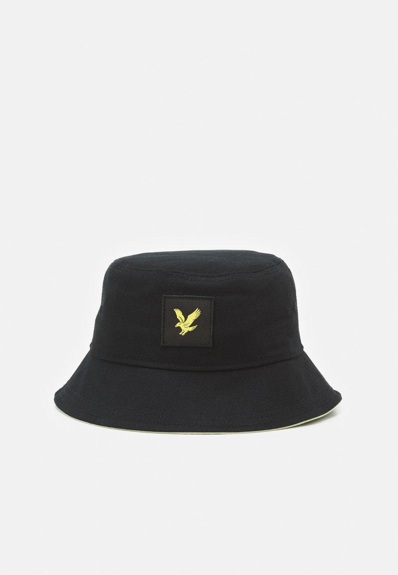 Lyle & Scott - CONTRAST BUCKET HAT UNISEX - Hat - black