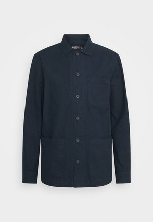 LONG SLEEVE POCKET - Shirt - navy