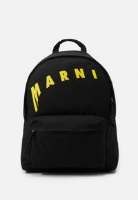 Marni - BACKPACK - Rucksack - black/yellow - 0