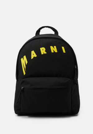 BACKPACK - Rucksack - black/yellow