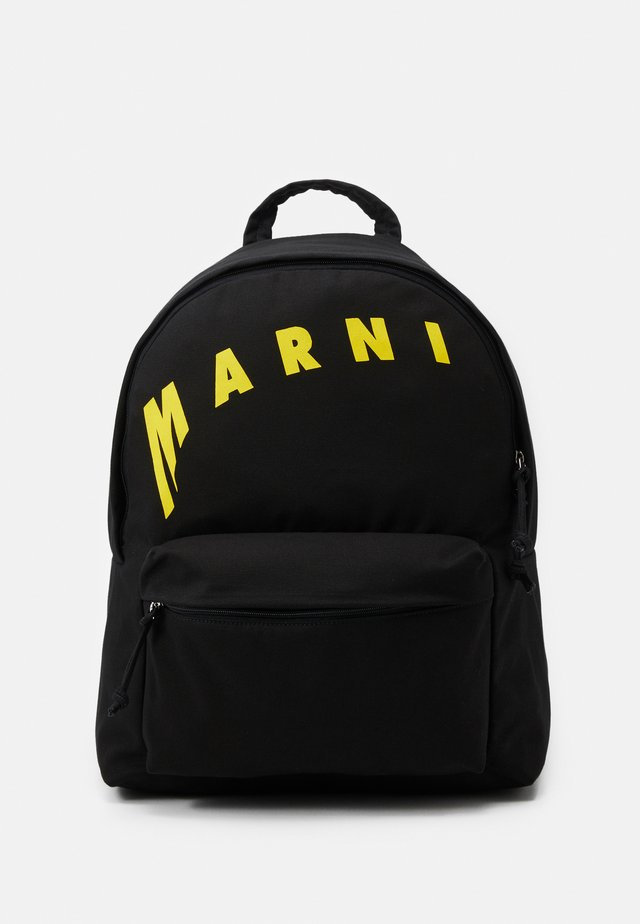 BACKPACK - Tagesrucksack - black/yellow