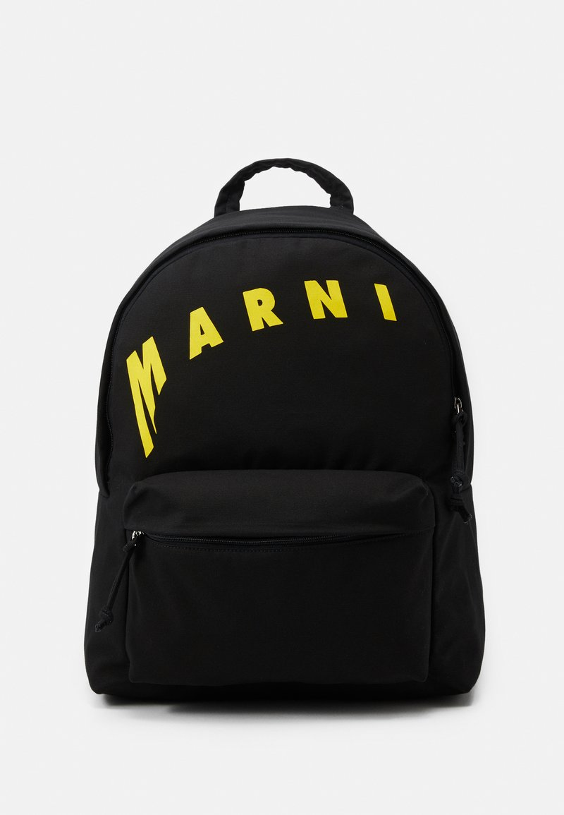 Marni - BACKPACK - Rucksack - black/yellow