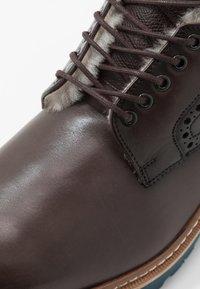 Lloyd - VILLOD - Lace-up ankle boots - havanna - 5