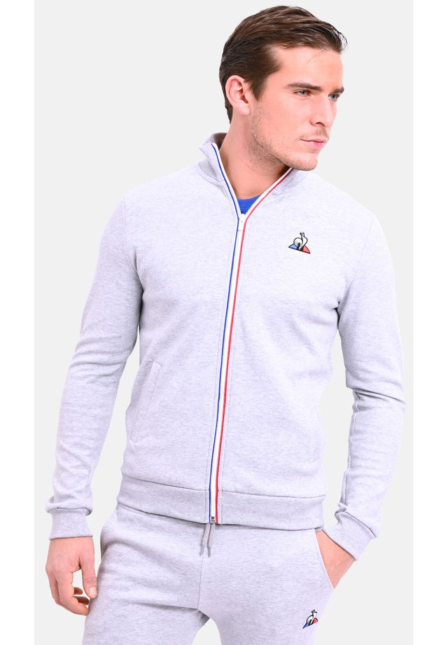 ESS FZ N2 - SWEATSHOT - veste en sweat zippée - grey